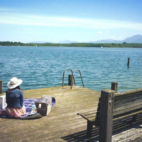 Picknick am Chiemsee