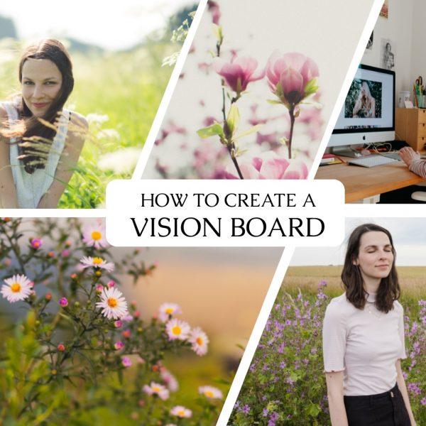 How to make a vision board |So machst du ein Visionboard