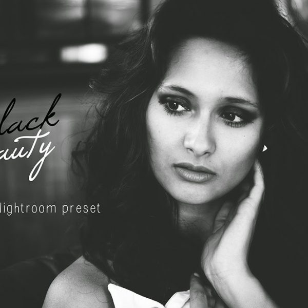 BLACK BEAUTY -  free lightroom preset
